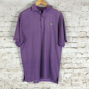 FootJoy Men's Polo Golf Shirt Size M Purple
